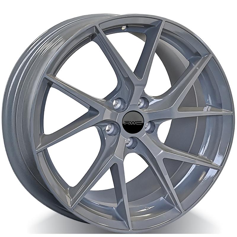 Alloy Wheels for KIA – BATTLESHIP_GREY Model MHK1012 - RWC Wheels