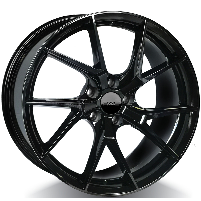 Alloy Wheels for POLESTAR – BLACK Model FO1012 / LFV1012 - RWC Wheels