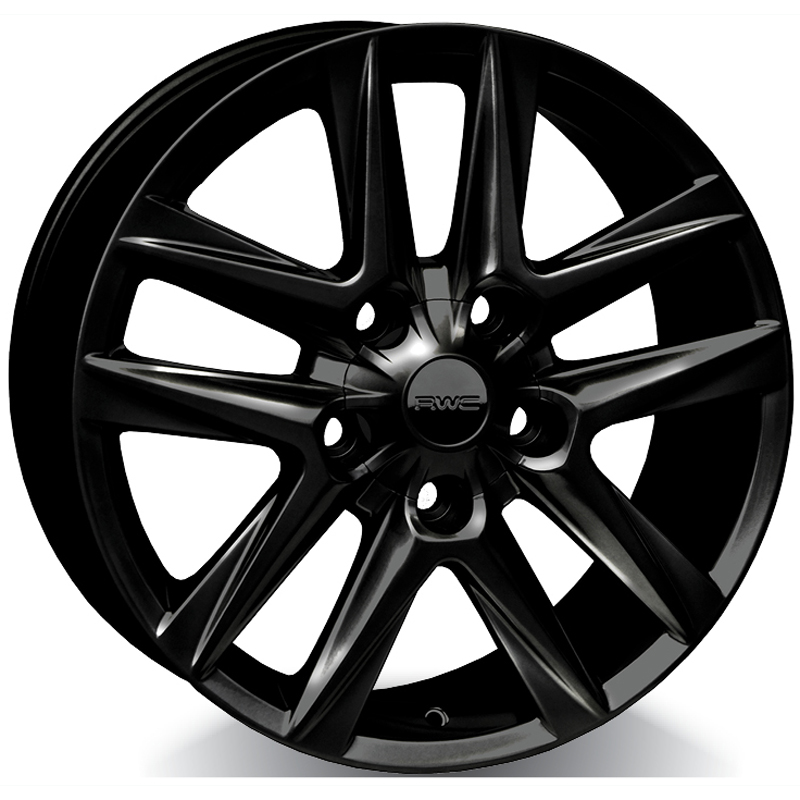 Alloy Wheels for TOYOTA – BLACK Model TO35 / LX35 - RWC Wheels