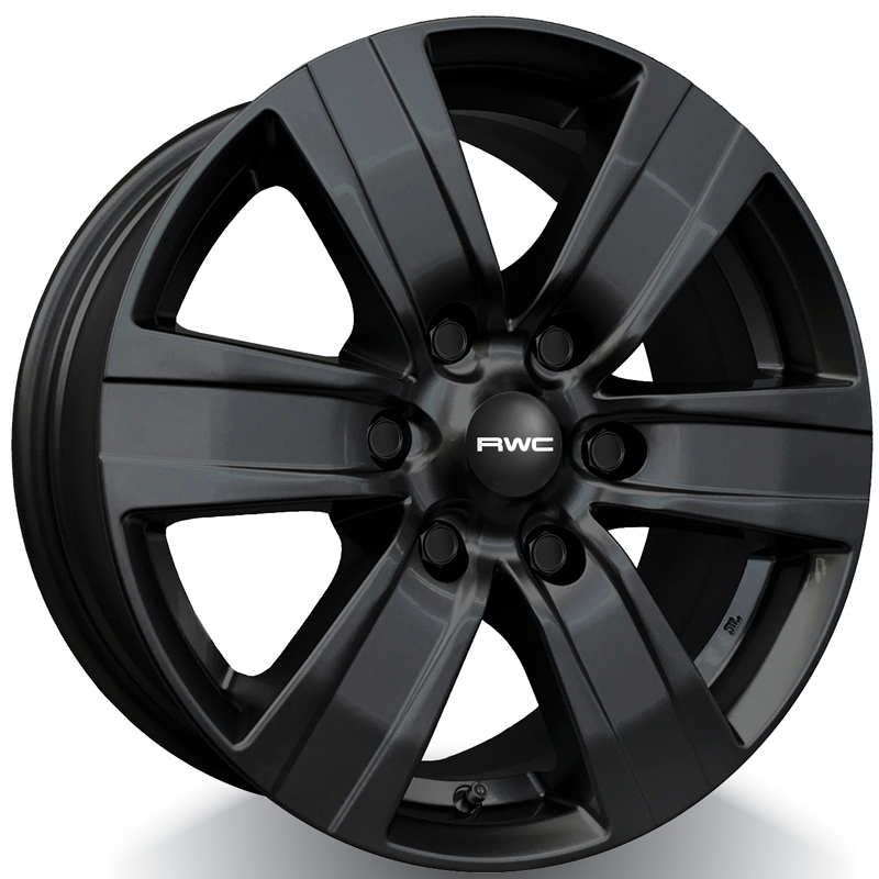 RWC TO640 / LX640 BLACK 17x7.5 6x139.7 ET25 CB106.10