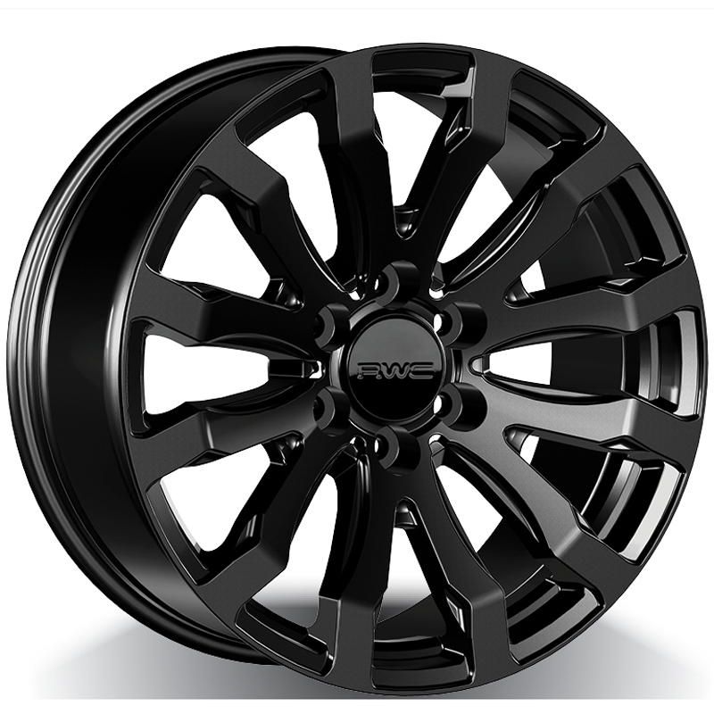 Alloy Wheels for LINCOLN – BLACK Model FO701 - RWC Wheels