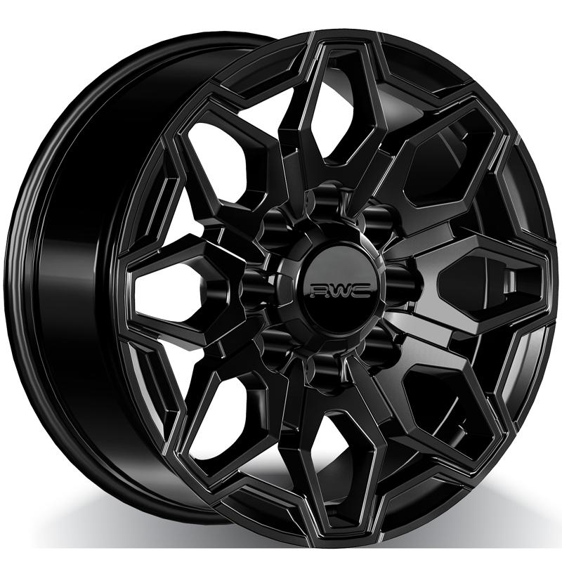 Alloy Wheels for CHEVROLET – BLACK Model GM807 - RWC Wheels
