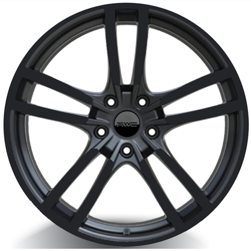 Alloy Wheels for PORSCHE – BLACK Model PC980 - RWC Wheels
