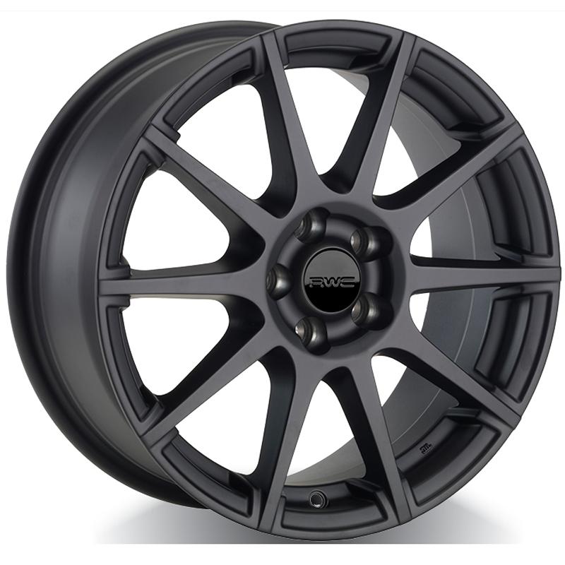 Roues d'hiver pour FIAT – NOIR Modèle FA55 - RWC Wheels