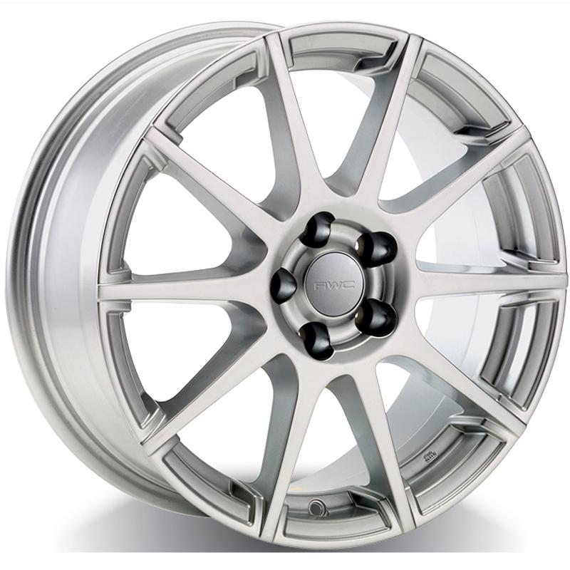 Alloy Wheels for FIAT – SILVER Model FA55 - RWC Wheels